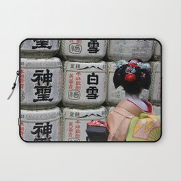 Geisha Maiko III Laptop Sleeve