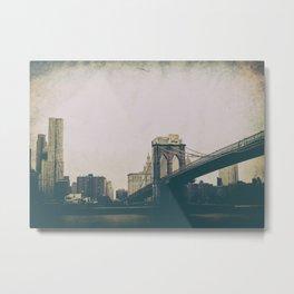 New York bv Metal Print