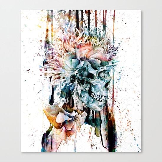 SKULL N-II Canvas Print
