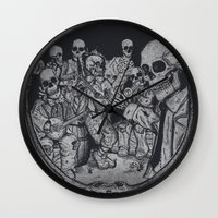 occult Wall Clocks featuring An Occult Classic by Dega Studios
