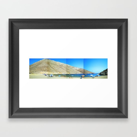 tothesea Framed Art Print