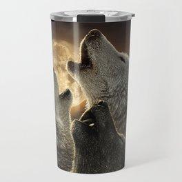 Wolf Trinity Travel Mug