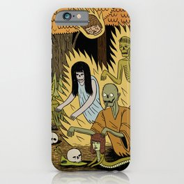 The Woodland Ghosts iPhone Case