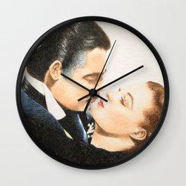 Rhett Butler & Scarlett O'Hara Wall Clock