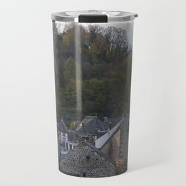 A small city in Auvergne, France. Travel Mug