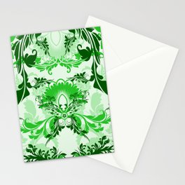 floral ornaments pattern magi Stationery Cards