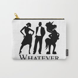 Man, Woman, Unicorn Carry-All Pouch
