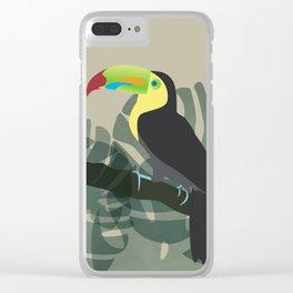 El Tucano Clear iPhone Case