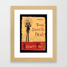 Jack Noir Framed Art Print