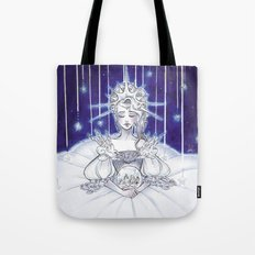 Christmas star Tote Bag