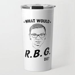 What would RBG do? Travel Mug