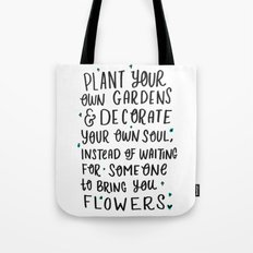 Plant Your Own Garden Tote Bag
