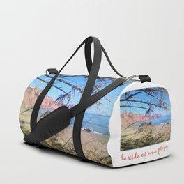Nerja Beach, Spain Duffle Bag