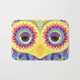 Rave the Owl Bath Mat