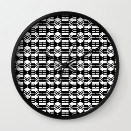 Arrowly Pattern I Wall Clock