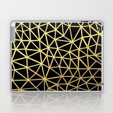 Broken Gold Laptop & iPad Skin