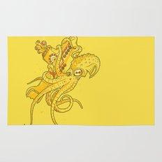 the Yellow Kracken Rug