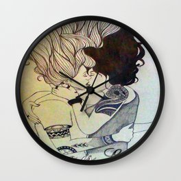 I Kissed A Girl Wall Clock