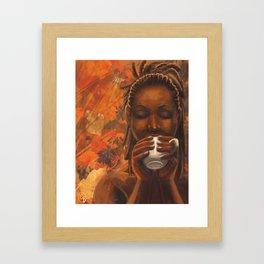 Fall-Pumpkin Spice Framed Art Print