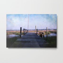Out on the Pier Metal Print