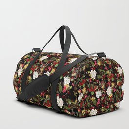 Cherries with Blossoms Duffle Bag