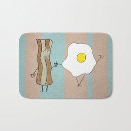 Bacon & Egg Togetherness Bath Mat