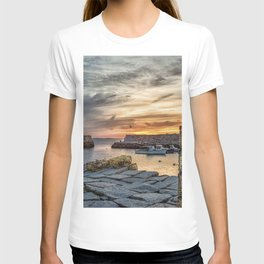 Lobster Trap sunset at lanes cove T-shirt