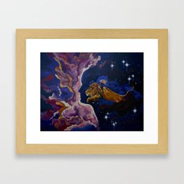 Lily the Lionhearted Framed Art Print