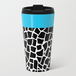 British Mosaic Electric Boarder Travel Mug