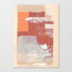 sedimenti 155 Canvas Print