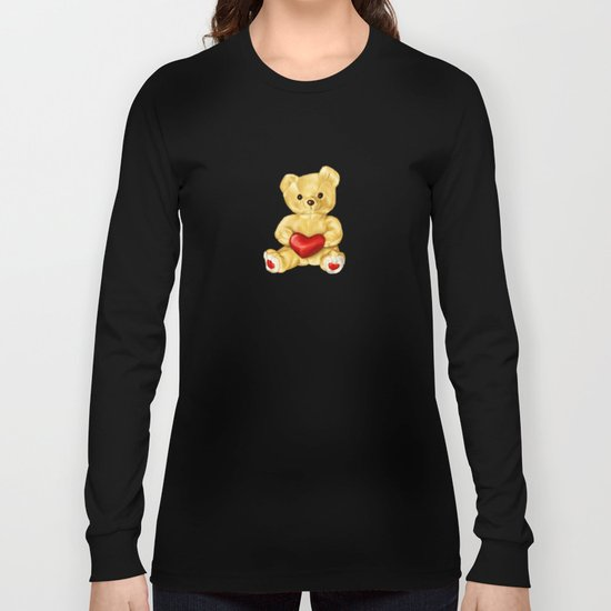 Teddy Bear Hypnotist Long Sleeve T-shirt