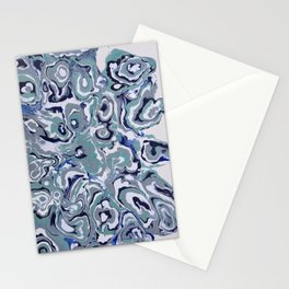 Oysters abstract Stationery Cards