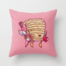 Cupid Cakes Throw Pillow