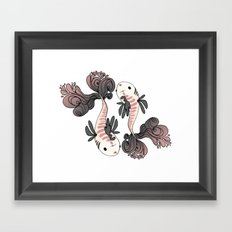 Pesci Framed Art Print