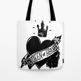 Queen of hearts, Custom gift design Tote Bag