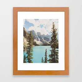 Moraine Lake II Banff National Park Framed Art Print