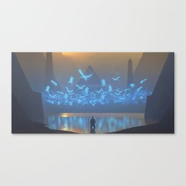 Daze Canvas Print