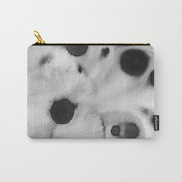 Black ink holes - in a watercolor based universe III Carry-All Pouch