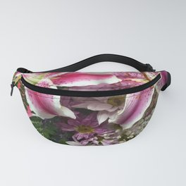 Star gazer lily bouquet Fanny Pack