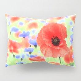 poppies art 004 Pillow Sham