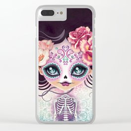Camila Huesitos - Sugar Skull Clear iPhone Case