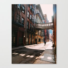 Staple Street Afternoon Canvas Print