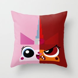 Dual Unikitty Throw Pillow
