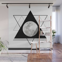 Uneven Geometry Wall Mural