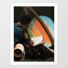 ...space Art Print