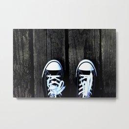 Two Feet Metal Print