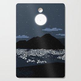 Caracas City at Night by Friztin Cutting Board
