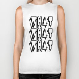 WHAT keeps happening: Black Biker Tank