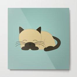 Ragdoll Kitten Metal Print