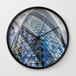 London The Gherkin  30 St Mary Axe Wall Clock
